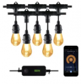 Smart 48-Ft. LED Patio String Lights Discount 45% coupon code off Amazon
