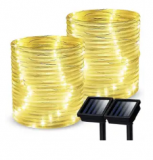 35.7-Ft. Solar Rope Light 2-Pack Discount 60% coupon code off Amazon