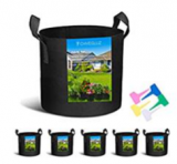 5-Pack Grow Bags Discount 50% off Amazon