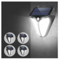 Solar Powered Motion Activated Outdoor LED Light 4-Pack Discount 40% coupon code off Amazon