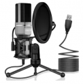 USB Condenser Microphone Discount 50% coupon code off Amazon