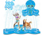 Splash Pad Sprinkler for Kids Toddlers Discount 60% coupon code off Amazon