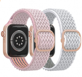 Stretchy Solo Loop Apple Watch Bands Discount 40% coupon code off Amazon
