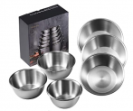 Stainless Steel Mixing Bowls Discount 50% off Amazon