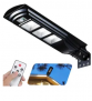 LED Solar Street Light with Remote Control Discount 40% coupon code off Amazon