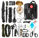 32-in-1 Emergency Survival Kit Discount 40% coupon code off Amazon
