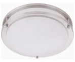 12″ LED Ceiling Light Discount 50% coupon code off Amazon