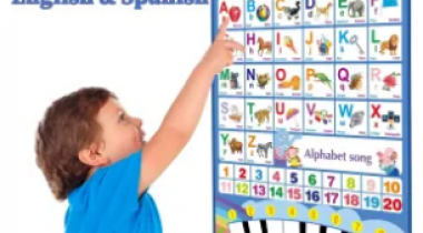 Like Bilingual Electronic Interactive Alphabet Wall Chart Discount 50% coupon code off Amazon
