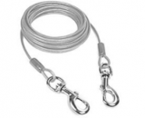 Dog Tie Out Cable – 32 ft Length  Discount 40% coupon code off Amazon