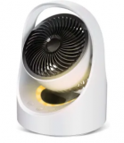 Portable Oscillating Desk Fan w/ LED Light Discount 50% coupon code off Amazon