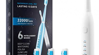 Electric Toothbrush Discount 80% coupon code off Amazon