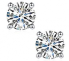 Moissanite Earrings Discount 50% coupon code off Amazon