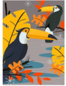 Parrot on Branch 1,000-Piece Jigsaw Puzzle Discount 50% coupon code off Amazon