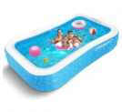 118″ Inflatable Pool Discount 30% coupon code off Amazon