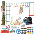 59-Piece Kids' Ninja Warrior Obstacle Course Discount 40% coupon code off Amazon