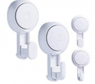 Shower Hooks Suction-Reusable Discount 50% coupon code off Amazon