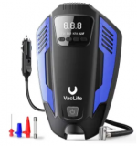 Air Compressor Portable 12V Tire Inflator Discount 60% coupon code off Amazon