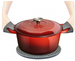 Cast Iron Enameled Dutch Oven Discount 50% coupon code off Amazon