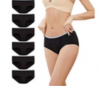 Cotton Underwear for Women Seamless Hipster Pantie Discount 40% coupon code off Amazon