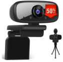 USB Webcam with Privacy Shutter Discount 70% coupon code off Amazon