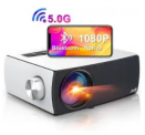 1080p 5G WiFi Bluetooth Projector Discount 35% coupon code off Amazon