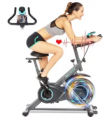 Stationary Exercise Bike w/ HR Monitor & LCD Display Discount 60% coupon code off Amazon