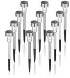 Solar Pathway Light 12-Pack Discount 40% coupon code off Amazon