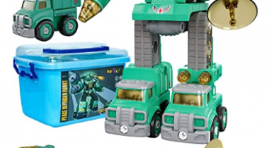 5 in 1 Take Apart Trucks Transformers Discount 70% coupon code off Amazon