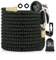 100-Ft. 5-in-1 Expandable Garden Hose Set Discount 50% coupon code off Amazon