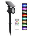 Power Color-Changing Solar LED Spot Light Discount 40% coupon code off Amazon