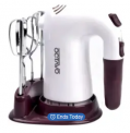 250W 5-Speed Electric Hand Mixer Discount 50% coupon code off Amazon