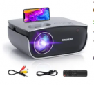 Portable Wireless Mini Projector Discount 50% coupon code off Amazon