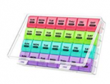XL Monthly Pill Organizer 1 Time a Day with Dust-Proof Case Discount 50% off Amazon