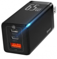 65W GaN 3-Port USB-C Charger Discount 50% coupon code off Amazon