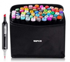 60 Colors Dual Tips Markers Pens Discount 50% off Amazon