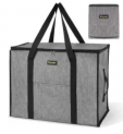 Storage Tote with Zippers & Carrying Handles Discount 40% coupon code off Amazon