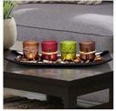 Home Decor Candle Holders Set for Bathroom Decorations Discount 40% coupon code off Amazon