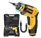 Rechargeable Electric Cordless Screwdriver Discount 40% coupon code off Amazon