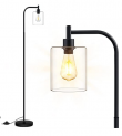 Floor Lamp with Glass Lampshade Discount 50% coupon code off Amazon