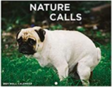 Wall Calendar – Pooping Dogs Discount 60% off Amazon