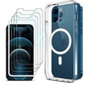 Magnetic Clear Case for iPhone 12 Pro Max Discount 70% coupon code off Amazon