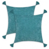 18″ x 18″ Chenille Throw Pillow Cases 2-Pack Discount 70% coupon code off Amazon