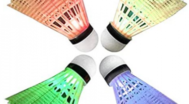 4 Pack LED Badminton Shuttlecocks Discount 60% coupon code off Amazon