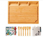 Extra Large Bamboo Cutting Board with Discount 50% coupon code off Amazon