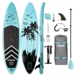 10.5-Foot Inflatable Stand Up Paddle Board Discount 30% coupon code off Amazon