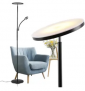 20W LED Floor Lamp with Side Reading Lamp Discount 50% coupon code off Amazon