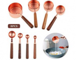 Stainless Steel Measuring Cups and Spoons Set Discount 60% coupon code off Amazon