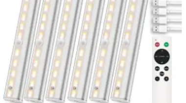 LED Under-Cabinet Light 6-Pack Discount 40% coupon code off Amazon