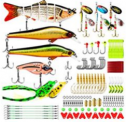 Fishing Lures Baits Tackle Kit Set Discount 40% off Amazon