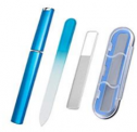 Glass Nail File and Buffer with Case Discount 50% coupon code off Amazon